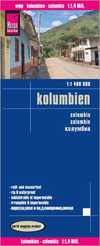 Kolumbien 1 : 1 400 000 - Reise Know-How Verlag Peter Rump