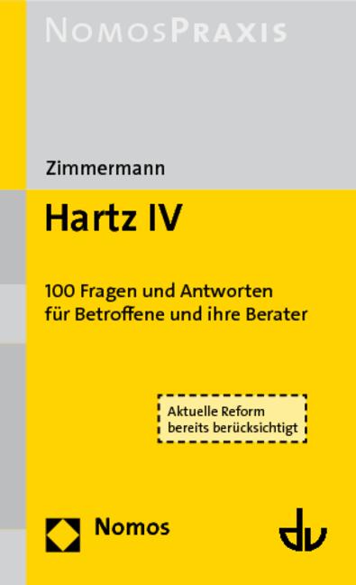 Fragen und Antworten zu Hartz IV - Ludwig Zimmermann