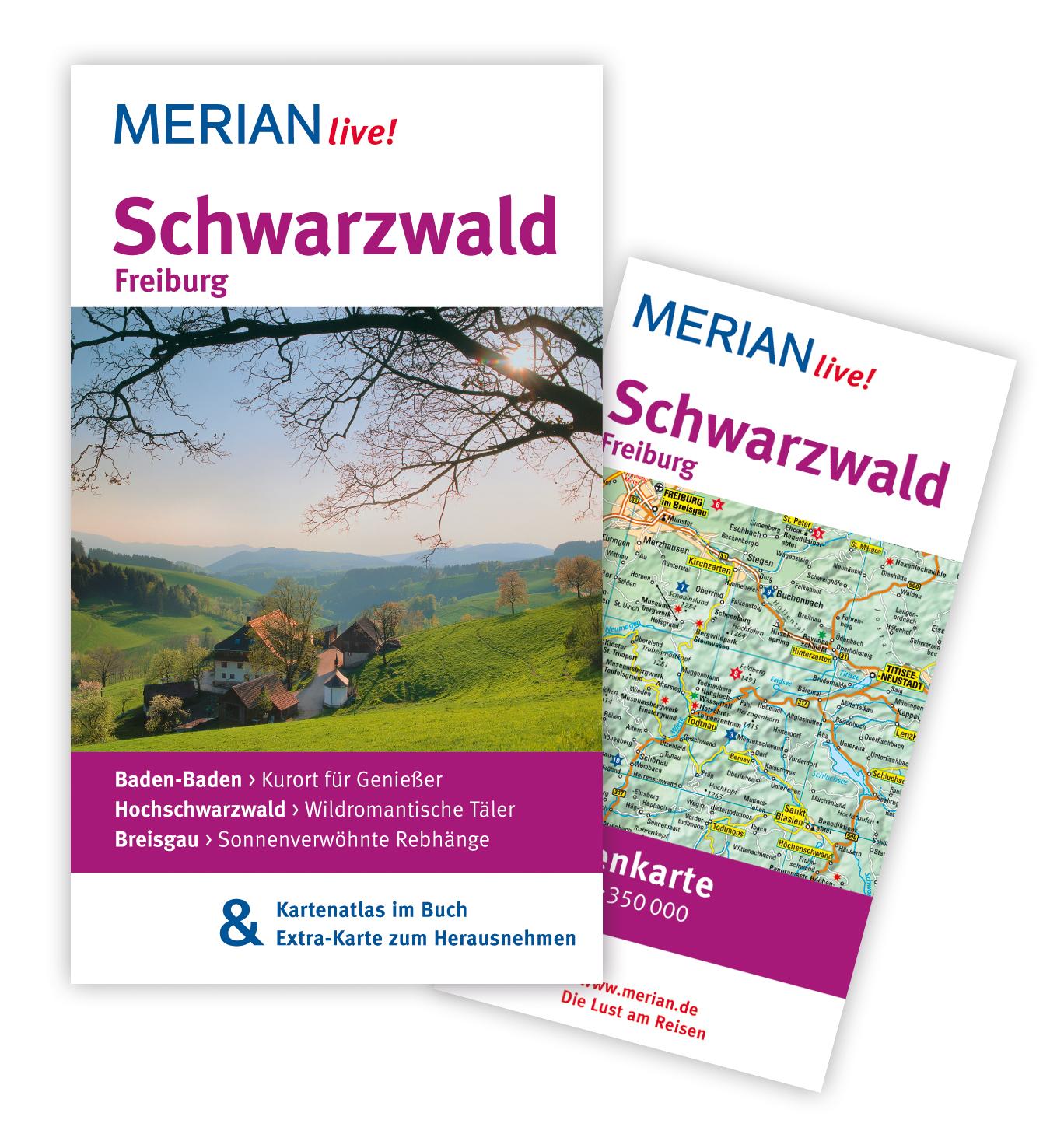 Schwarzwald Freiburg: MERIAN live! - Mit Karten...