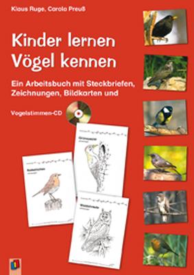 Kinder lernen Vögel kennen: Ein Arbeitsbuch mit...