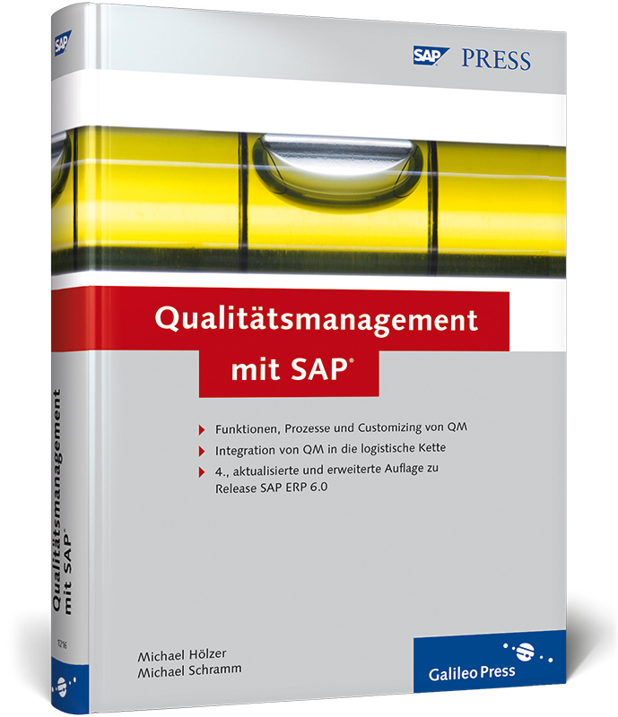 Qualitätsmanagement mit SAP (SAP PRESS) - Micha...