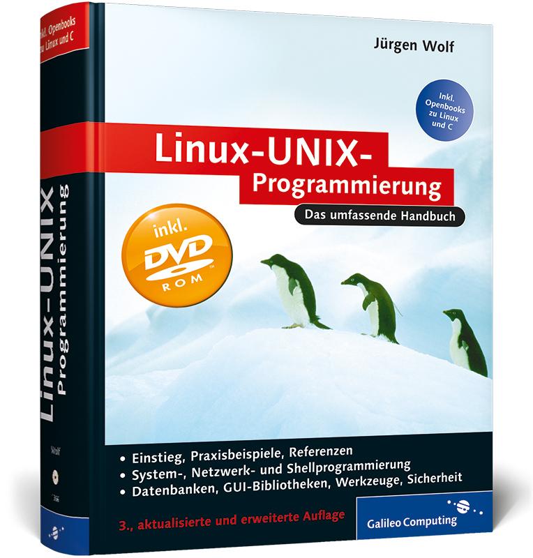 Linux-UNIX-Programmierung: Das umfassende Handb...
