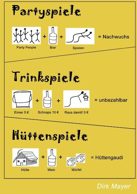 Trinkspiele Partyspiele Hüttenspiele - Dirk Mayer
