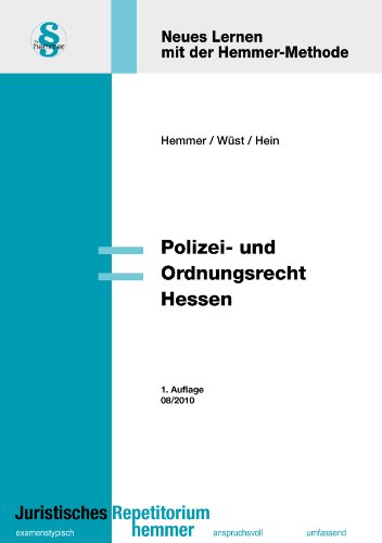 Polizei- und Ordnungsrecht Hessen - Karl E. Hemmer
