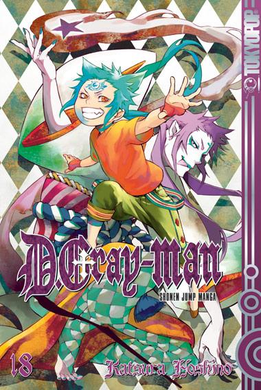 D.Gray-Man 18: Lonely Boy - Katsura Hoshino