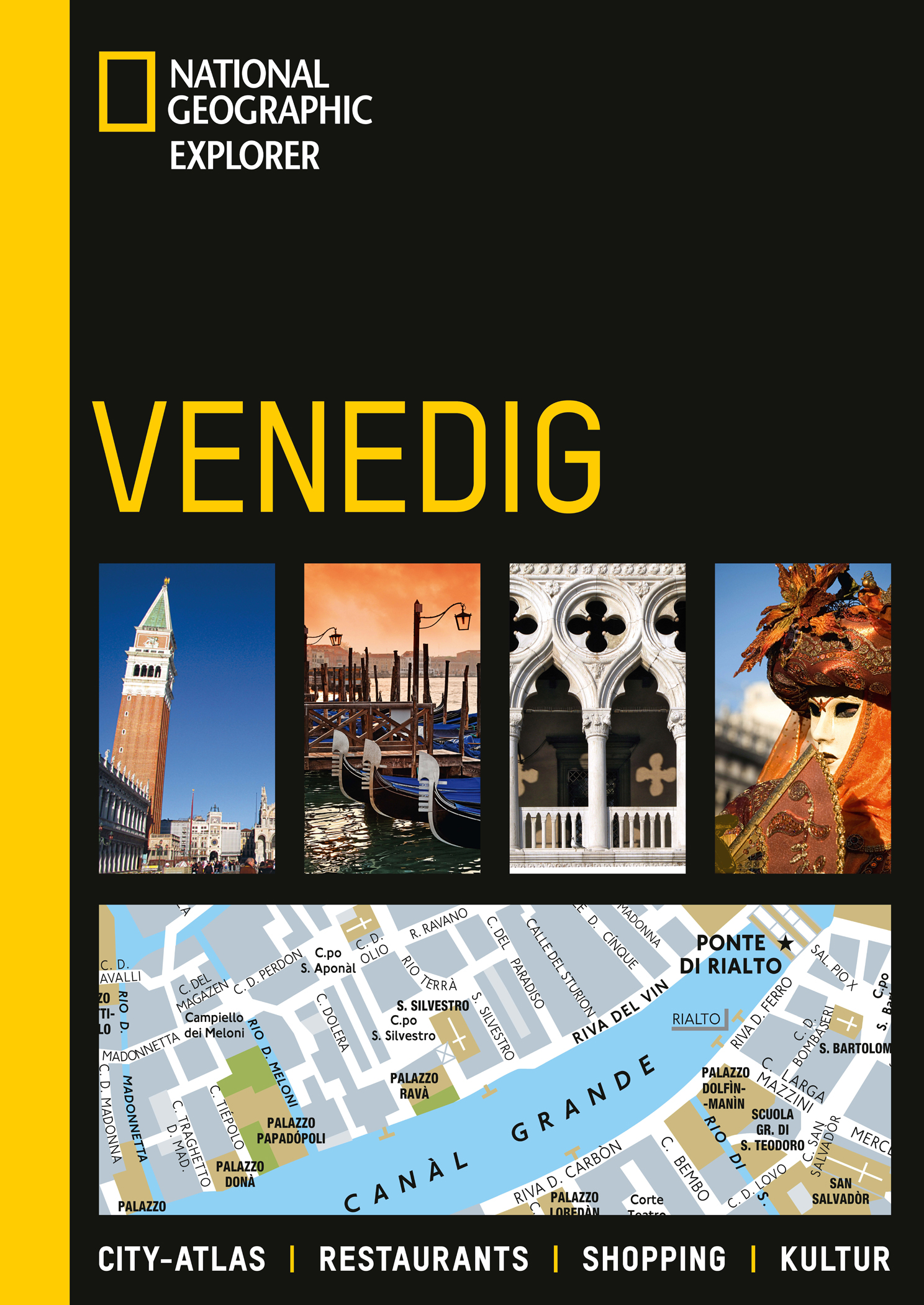Venedig: Citiy-Atlas. Restaurants. Shopping. Ku...