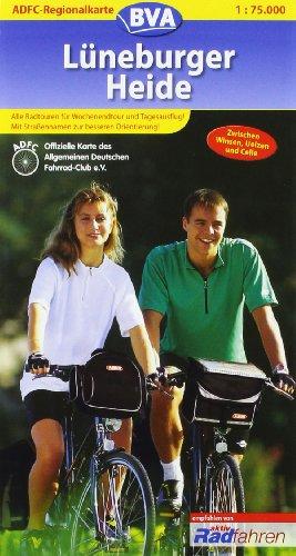 ADFC-Regionalkarte Lüneburger Heide 1 : 75.000:...