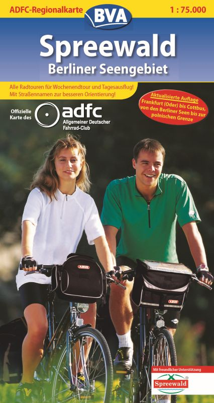 ADFC-Regionalkarte Spreewald / Berliner Seengeb...