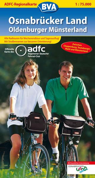 ADFC-Regionalkarte Osnabrücker Land / Oldenburg...