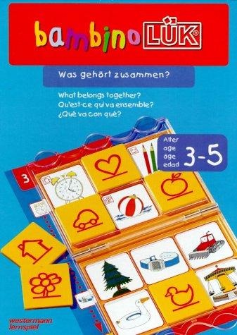bambino LÜK-System: LÜK. Bambino. Was gehört zusammen?: Enthält: bambinoLÜK-Lösungsgerät und Heft 1