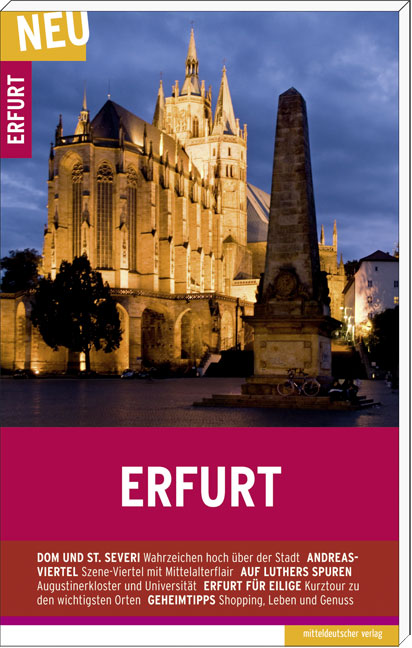 Erfurt: Stadtführer - Andreas Schareck