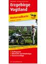 Motorradkarte Erzgebirge - Vogtland: Mit Ausflugszielen, Einkehr- & Freizeittipps und Tourenvorschlägen - Publicpress
