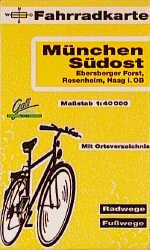 Fahrradkarte München Südost, Ebersberger Forst,...