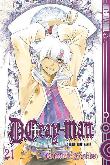 D. Gray-Man 21 - Katsura Hoshino