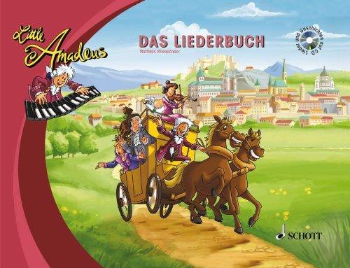 Little Amadeus: Das Liederbuch mit Geschichten ...