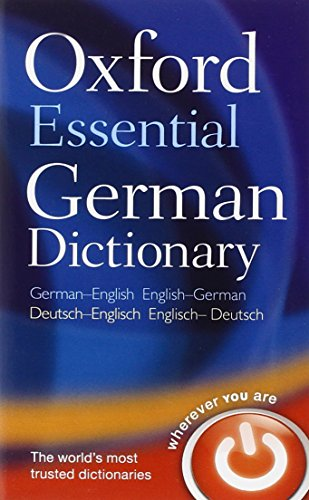 Oxford Essential German Dictionary: Over 100 000 words, phrases and translations. German-English / English-German - Oxfo
