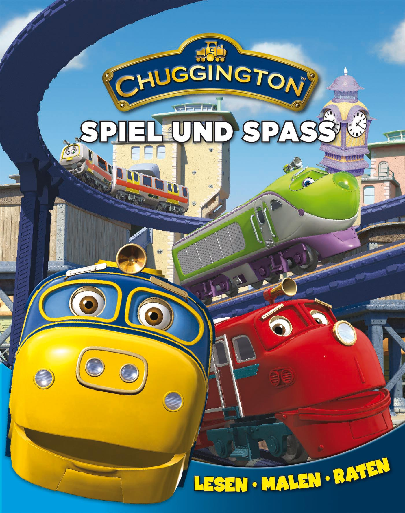 Chuggington: Jahresbuch: Spiel und Spass. Lesen - Malen - Raten
