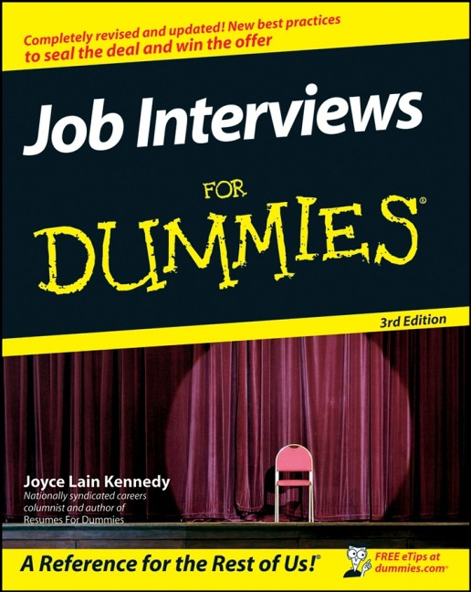 Job Interviews For Dummies (For Dummies (Lifest...