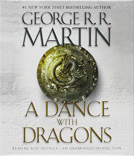 A Song of Ice and Fire: Book 5 - A Dance with Dragons - George R. R. Martin [Audio CD]