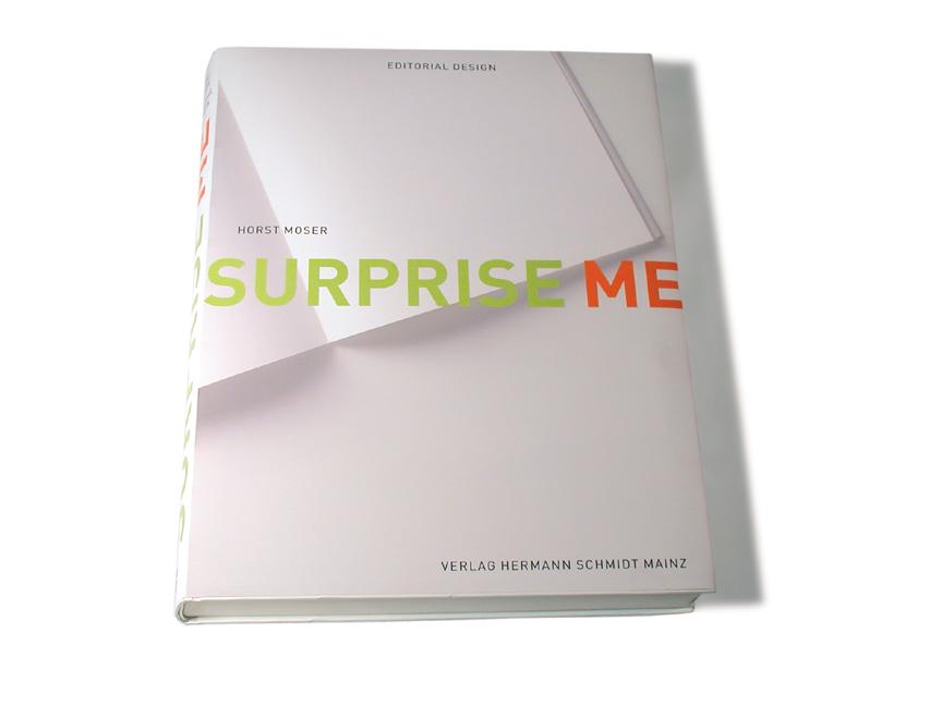 Surprise me. Editorial Design - Horst Moser