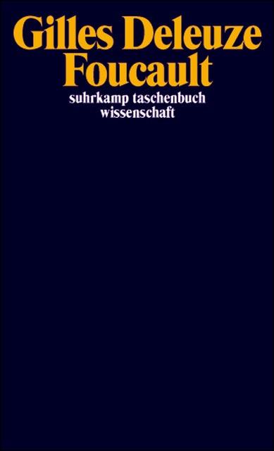 Foucault (suhrkamp taschenbuch wissenschaft) - Gilles Deleuze