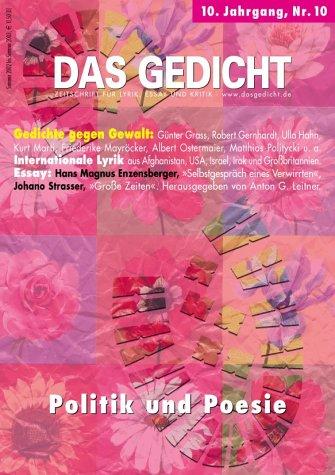 Das Gedicht. Zeitschrift /Jahrbuch für Lyrik, E...