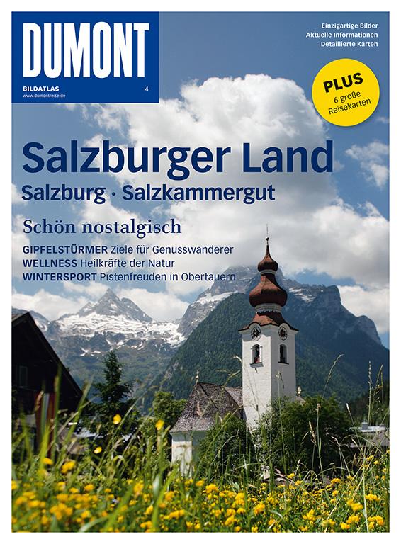 DUMONT BILDATLAS 4 Salzburger Land, Salzkammerg...
