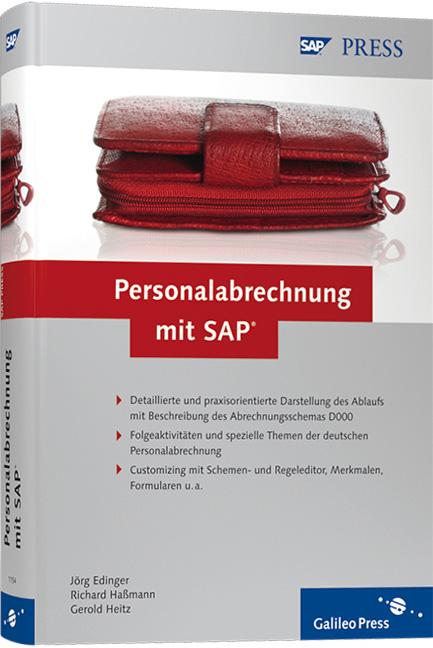 Personalabrechnung mit SAP (SAP PRESS) - Jörg E...