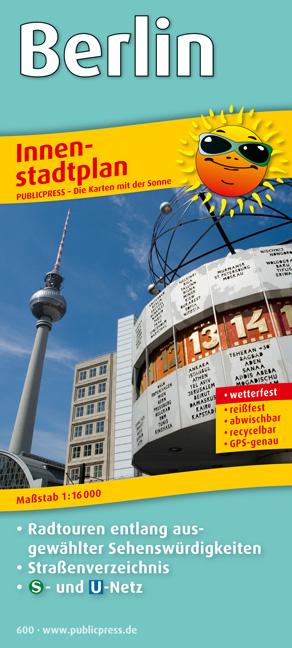 Berlin Innenstadtplan: Mit Sehenswürdigkeiten &...