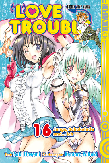 Love Trouble 16 - Kentaro Yabuki