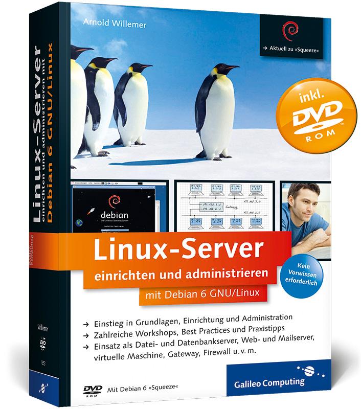 Linux-Server einrichten und administrieren mit ...