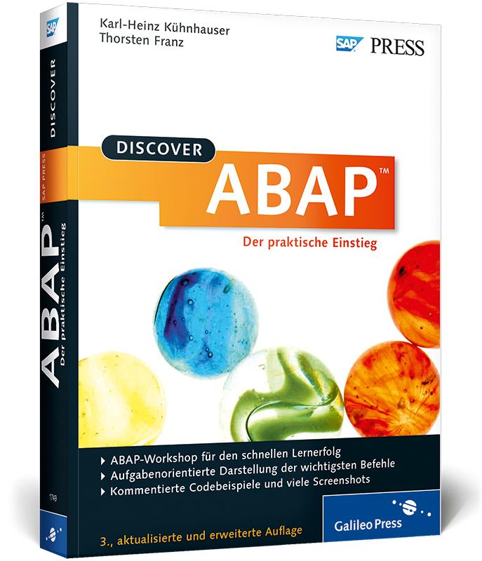 Discover ABAP: Der praktische Einstieg (SAP PRE...