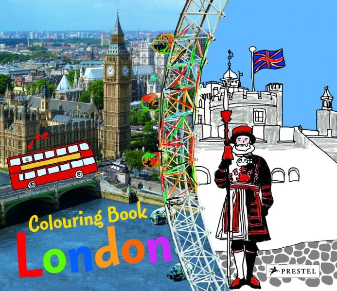 Colouring Book London - Annette Roeder