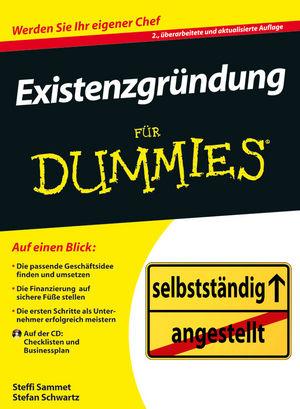 Existenzgründung für Dummies - Stefanie Sammet