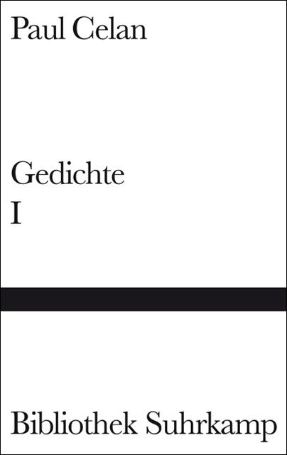 Gedichte in zwei Bänden, Band 1 - Paul Celan