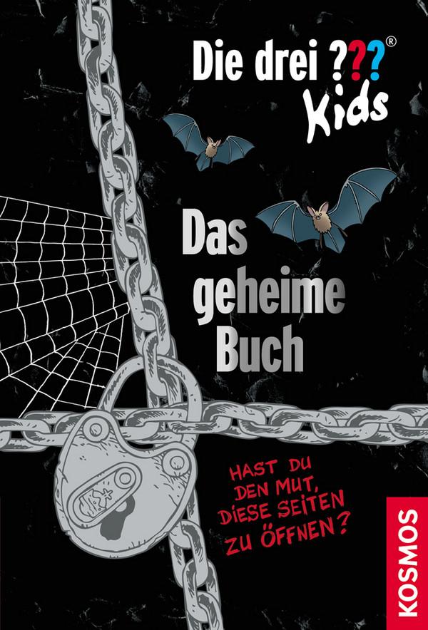 Die drei ??? Kids: Das geheime Buch (drei Fragezeichen): Hast du Mut diese verschlossenen Seiten zu öffnen? - Ulf Blanck