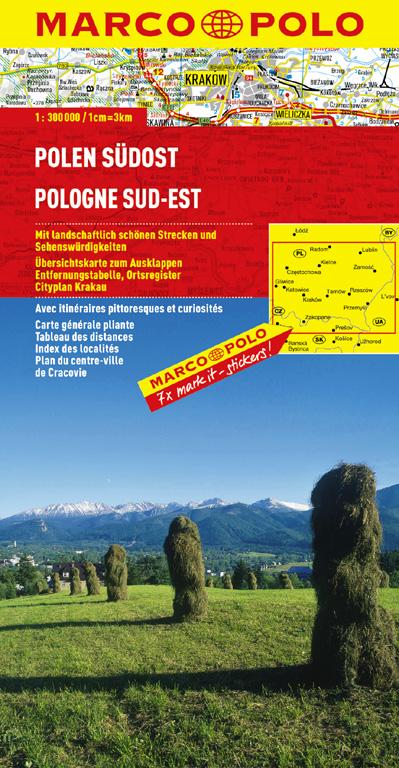 Marco Polo Regionalkarte Polen 04 Südost 1 : 300 000