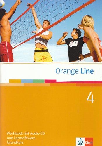 Orange Line 4. Grundkurs Klasse 8. Workbook mit Audio-CD und Lernsoftware - Frank Haß