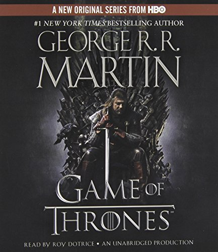 A Song of Ice and Fire: Book 1 - A Game of Thrones - George R.R. Martin [Audio CD]