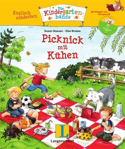 Englisch entdecken - Die Kindergartenbande: Picknick mit Kühen - Susan Niessen
