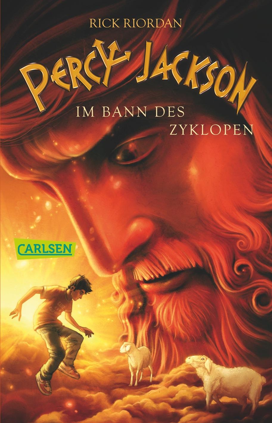 Percy Jackson: Band 2 - Im Bann des Zyklopen - Rick Riordan [Taschenbuch]