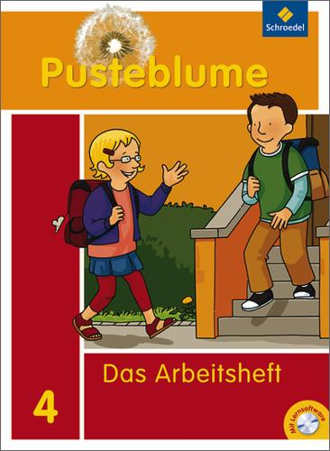 Pusteblume. Das Sprachbuch: Pusteblume 4. Das Sprachbuch. Arbeitsheft mit CD-ROM. Bremen, Hamburg, Niedersachsen, Nordrh