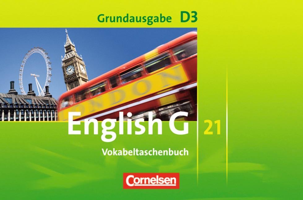 English G 21 - Grundausgabe D: Band 3: 7. Schuljahr - Vokabeltaschenbuch