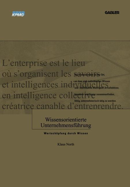 Wissensorientierte Unternehmensführung. Wertsch...