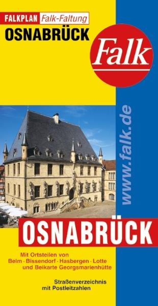 Falkplan Falk-Faltung Osnabrück