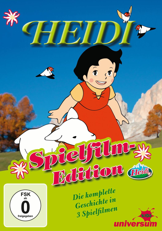 Heidi [Spielfilm-Edition, 3 DVD´s]