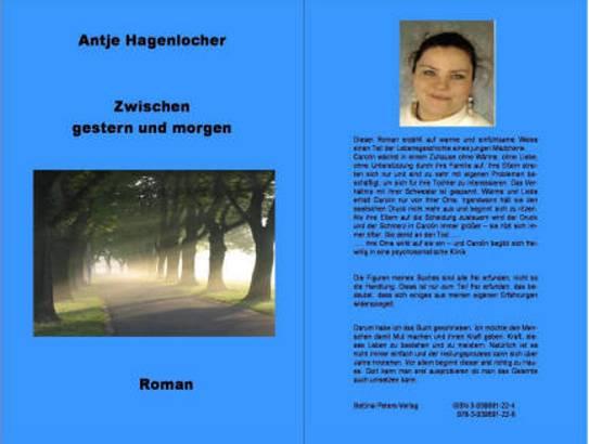 Zwischen gestern und morgen - Antje Hagenlocher