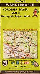Fritsch Karten, Nr.57, Vorderer Bayerischer Wald