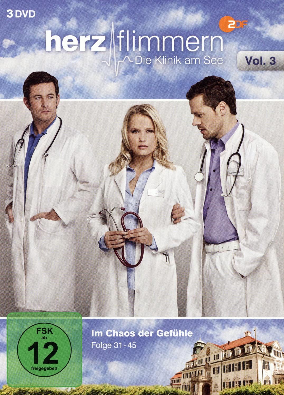 Herzflimmern - Die Klinik am See Vol. 3 [3 DVD´s]