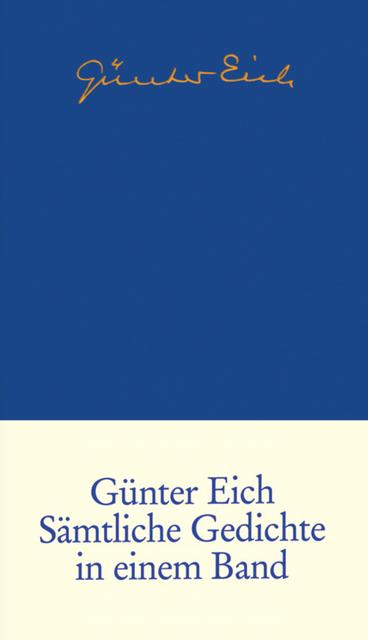 Sämtliche Gedichte - Günter Eich